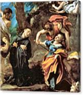 The Martyrdom Of Four Saints Canvas Print
