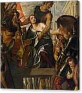The Martyrdom Of Saint Mena Canvas Print