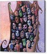 The Mask Vendor Canvas Print