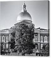 The Mass State House Canvas Print