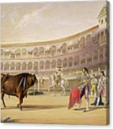 The Matador Canvas Print