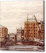 The Mayfloer Pub Rotherhithe London Canvas Print