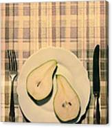 The Meal Of The Day Canvas Print