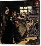 The Menshikov Family In Beriozovo, 1883 Oil On Canvas Canvas Print