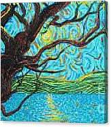 The Mermaid Tree Canvas Print