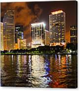 The Miami Guardian Canvas Print