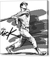 The Mick Canvas Print
