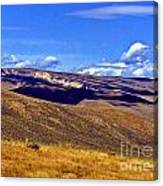 The Middle Of Nowhere Canvas Print
