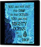 The Mighty Celtic Ocean Canvas Print