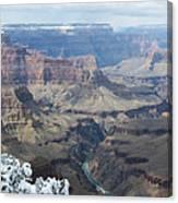 The Mighty Colorado River Canvas Print