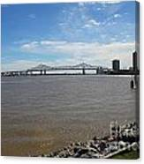 The Mighty Mississippi Canvas Print