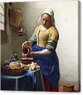 The Milkmaid Canvas Print