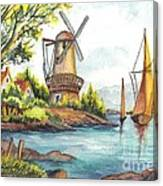 The Olde Mill Canvas Print