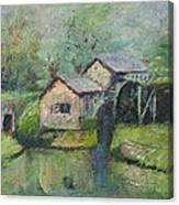 The Mill In The Mist Canvas Print