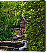 The Mill Paint 2 Canvas Print