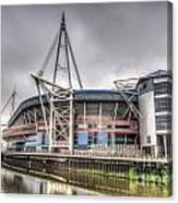 The Millennium Stadium Canvas Print