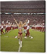 The Million Dollar Marching Band Of The University Of Alabama Canvas Print