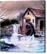 The Millstream Canvas Print