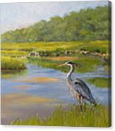 The Millway Marsh Canvas Print