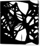 The Minaret And Art Canvas Print