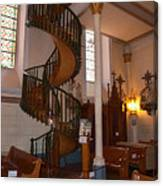 The Miraculous Staircase Canvas Print