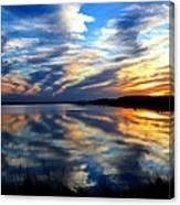 The Mirror Lake Canvas Print