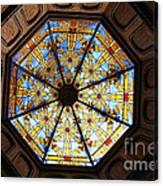 The Mission Inn Looking Up Canvas Print