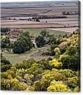 The Missouri River Valley Canvas Print