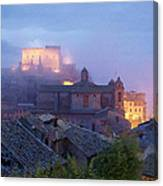 The Mists Of Soriano Canvas Print