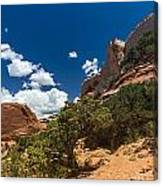 The Moab High Desert Canvas Print