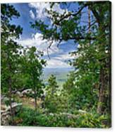 The Mogollon Rim  Canvas Print