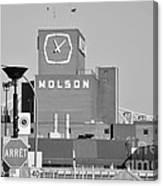 The Molson Clock Montreal Canvas Print