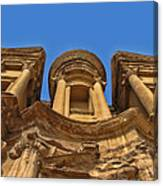 The Monastery In Petra Canvas Print