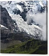 The Monk - Swiss Bernese Alps Canvas Print