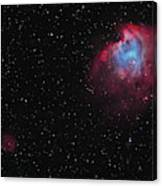 The Monkey Head Nebula And Sh2-247 Canvas Print