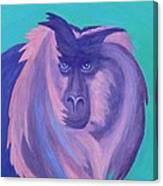 The Monkey's Mane Canvas Print