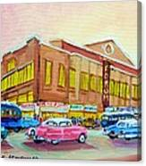 The Montreal Forum Canvas Print