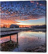 The Morning Sky Canvas Print
