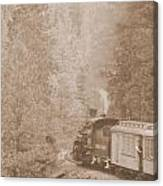 The Morning Train Canvas Print