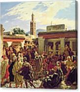 The Moroccan Storyteller Canvas Print
