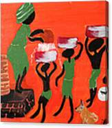 The Motherhood Canvas Print