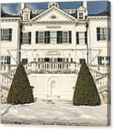 The Mount Edith Warton Estate Lenox Ma Canvas Print