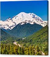 The Mountain And The Valley Canvas Print