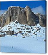 The Mountain Citadel Canvas Print