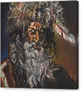 The Mountain Man Canvas Print