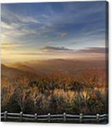 The Mountains Of Brasstown Bald Canvas Print