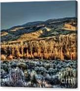 The Mountainsides Canvas Print