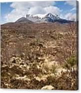 The Munro Of Sgurr Nan Fhir Duibhe Canvas Print