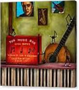 The Music Box Edit 3 Canvas Print