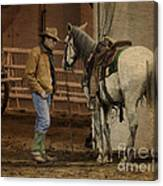 The Mustang Whisperer Canvas Print